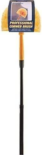 Ettore, 1-(Pack), 31028 Professional Cobweb Duster with Pole (2 Pack)