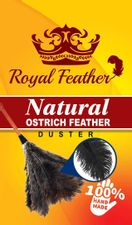 """GM Ostrich Feather Duster (Mini Duster 14"""" Black)"""