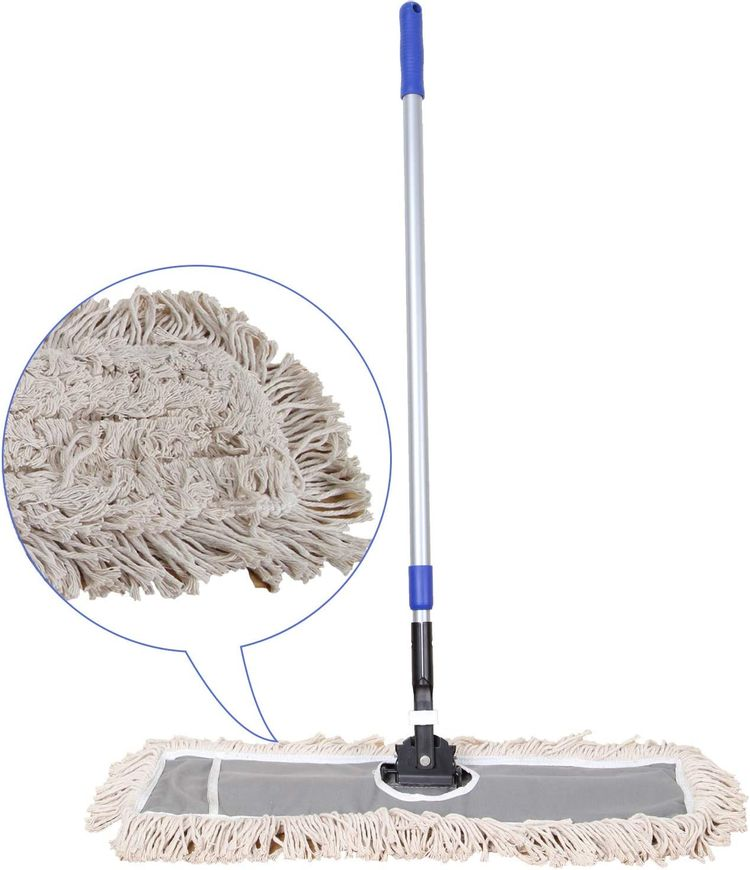 """JINCLEAN™ 24"""" Industrial Class Cotton Floor Mop 
