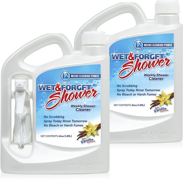 Wet & Forget Weekly Shower Cleaner Spray 64 oz - 2 Pack
