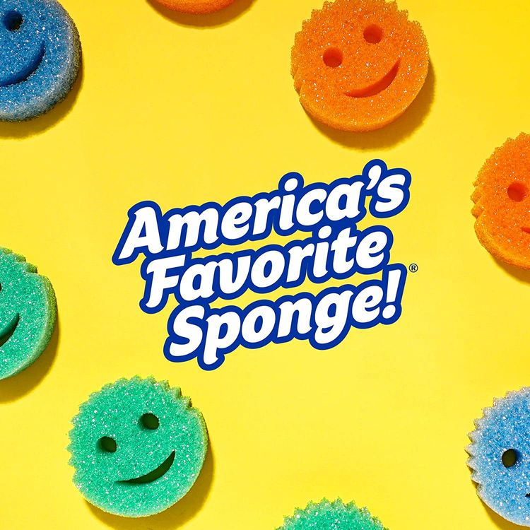 Scrub Daddy Scrub Mommy Dual-Sided Scrubber and Sponge - Scratch Free & Resists Odors - 3 Count 1 ea