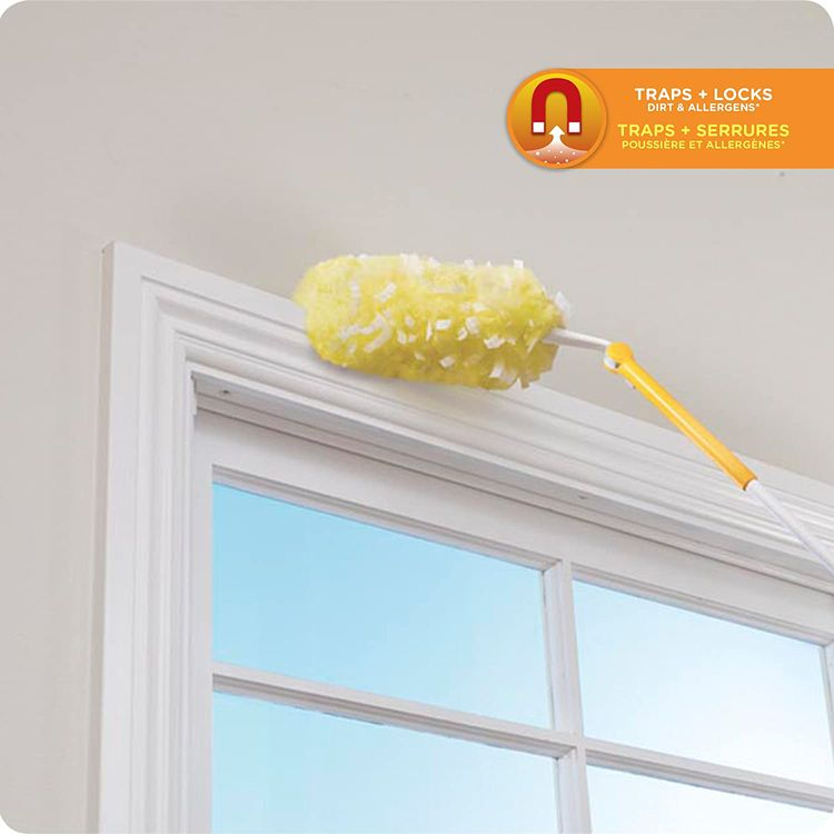 Swiffer 360 Dusters Extendable Handle Starter Kit, 3 Count Duster Refill