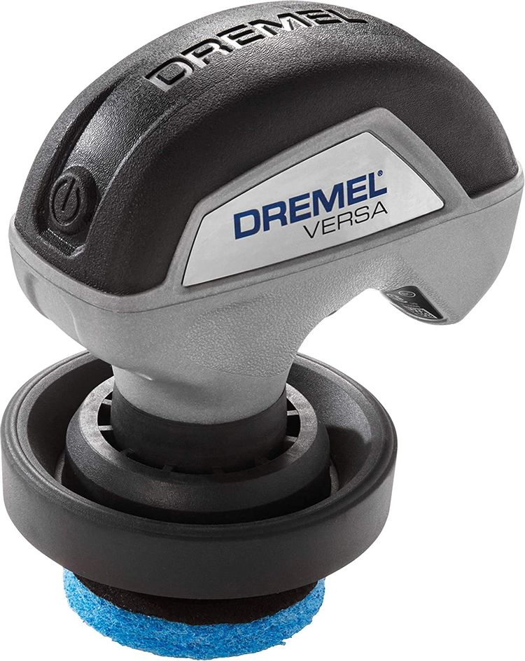 Dremel Versa Cleaning Tool- Grout Brush- Bathroom Shower Scrub- Kitchen & Bathtub Cleaner- Power Scrubber for Tile, Pans, Stoves, Tubs, Sinks Auto, & Grills- PC10-02