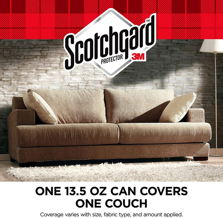 Scotchgard Fabric Water Shield, 13.5 Ounces, Repels Water, Ideal for Couches, Pillows, Furniture, Shoes and More, Long Lasting Protection