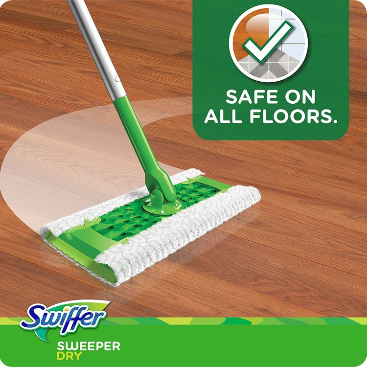 Swiffer Sweeper Dry Sweeping Pad, Multi Surface Refills for Dusters Floor Mop with Febreze Lavender Scent, 26 Count (Pack of 2)
