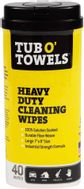 """1-Pack of TW40 (7"""" x 8"""" wipes)"""