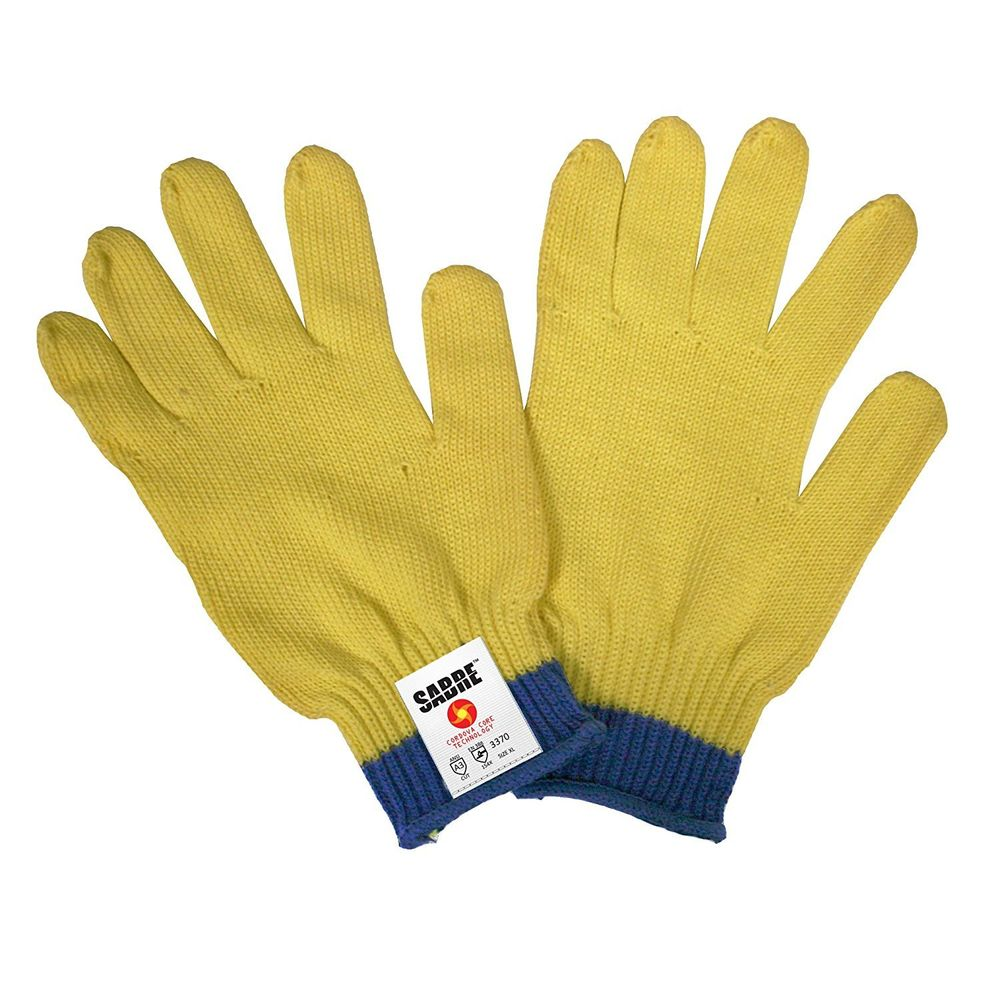 3370 Sabre High Performance CCT Cordova Core Technology - Large - 7 gauge shell unique silica/aramid yarn that provides cut, abrasion, and heat resistance with comfort & dexterity | 12 Pairs