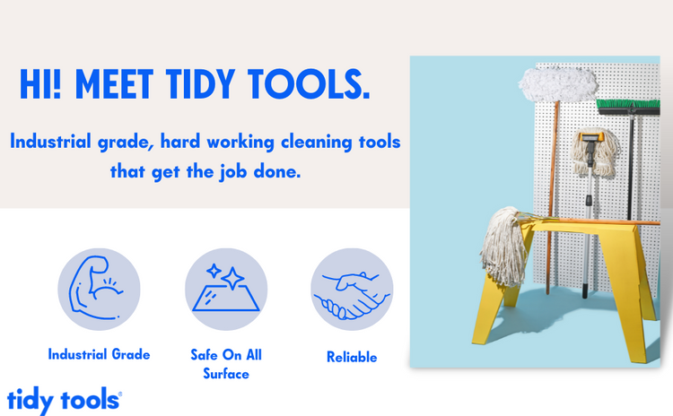 Tidy tools industrial grade hard working cleaning tools