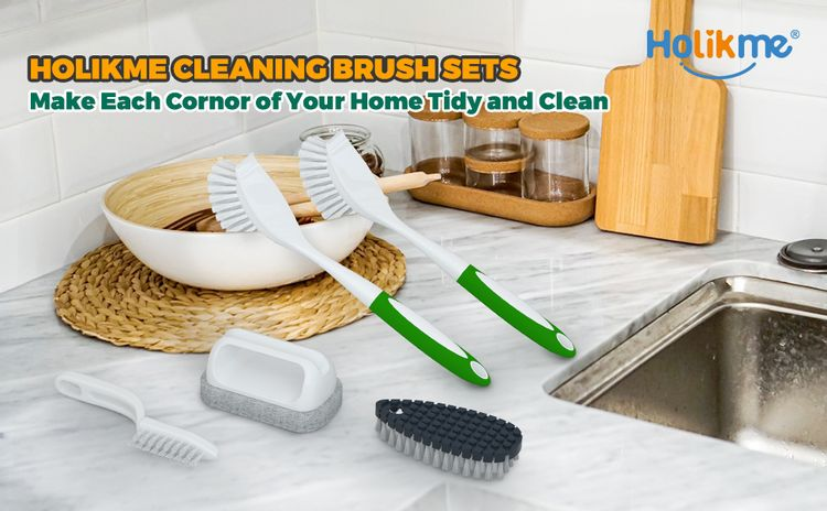 household cleaning brush sets