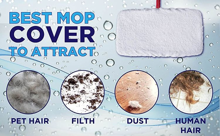 mop cover to attract