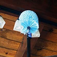 eversprout extra large cobweb duster with extension pole