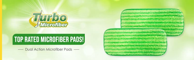 microfiber pads compatible with swiffer wetjet