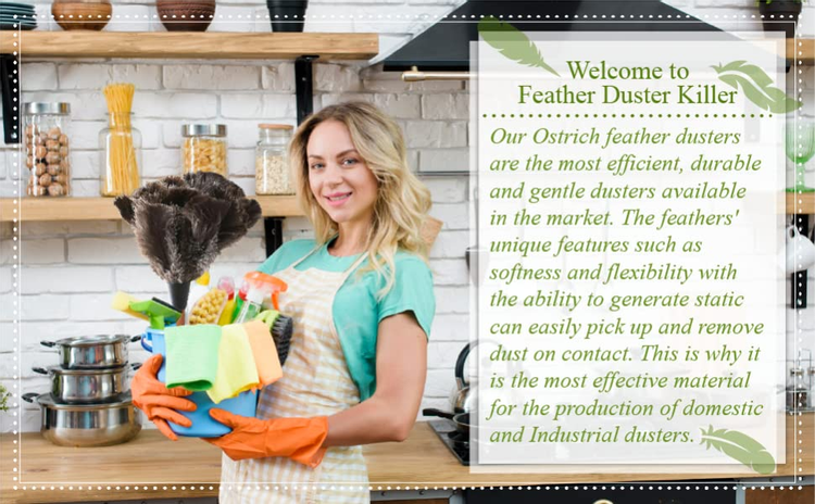 duster killer ostrich feather dusters
