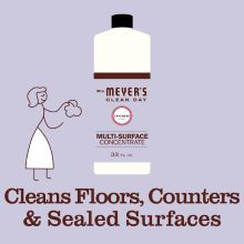 Lavender scent, Mrs. Meyer's cleaning concentrate