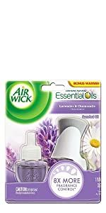 Air wick essential oil air fresh Life Scents Summer Turquoise Paradise Lavender