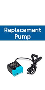 pet water fountain replacement pump
