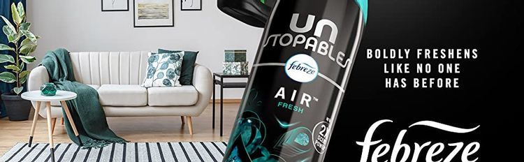 Boldly freshens like no one has before. Unstopables Febreze Air.