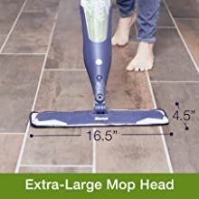 extra large mop head, spray mop, fastest cleaning