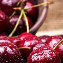 THE ESSENCE of rich cherry and red fruit surface feelings that are decadently sweet.