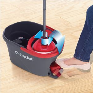 EasyWring Spin Mop spinning