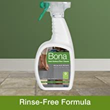 rinse-free formula, cleans hard surface floor, safe for kids and pets, tile, laminate, stone, vinyl