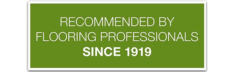 floor care recommended by professionals since 1919