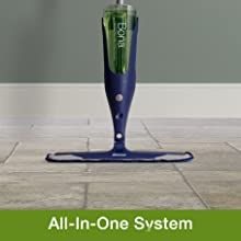 all in one to clean hard-surface, tile, laminate, stone, vinyl, LVT floors