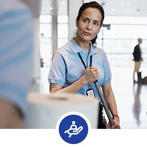 Tork help improve the well-being of guests and staff.