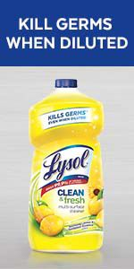 Multi surface cleaner lysol disinfect all purpose floor cleaner mop cleaner liquid sanitize bleach
