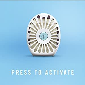 Press to activate