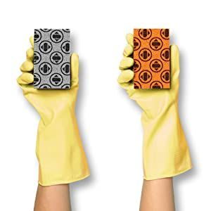 sponge dish towel kitchen cleaning anti bacterial